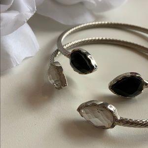 Brand New! Rhinestone Cuff Bracelets